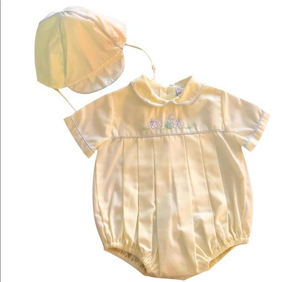 afbf3f0cb1d6b Petit Ami Newborn Infant/Baby boy romper. M_5af0b53d46aa7c6051c64e09